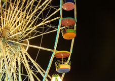 Ferris Wheel At Night Imagem de Stock Royalty Free