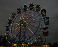 Ferris Wheel At Night Imagenes de archivo
