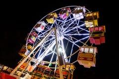 Ferris Wheel At Night Foto de Stock