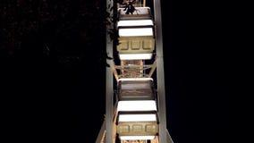 Ferris Wheel At Night Close-up filme