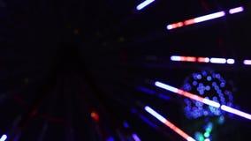 Ferris wheel night stock footage