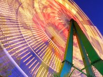 Ferris wheel at night. Stock Image