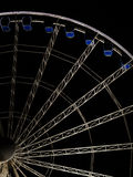 Ferris wheel at night  in Gdansk, Poland Stock Photography