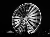 Ferris wheel by night Royalty Free Stock Photography