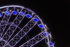 Ferris wheel at night Royalty Free Stock Photos