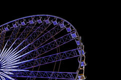 Ferris wheel in night Royalty Free Stock Image