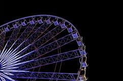 Ferris wheel in night Royalty Free Stock Image