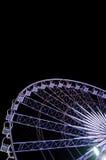 Ferris wheel in night Stock Images