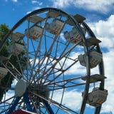 Ferris Wheel no lago Okoboji Fotografia de Stock