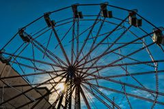 Ferris Wheel no parque no West End Imagem de Stock Royalty Free