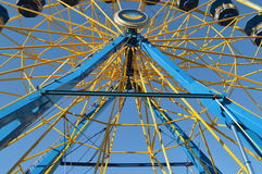 Ferris Wheel on North Carolina State Fair Royalty Free Stock Photos