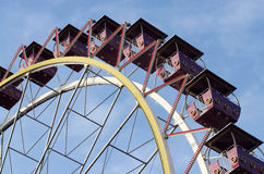 Ferris wheel in Odessa's amusement park,Ukraine Stock Images