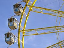 Ferris wheel at the Oktoberfest, Munich, Germany Stock Photos