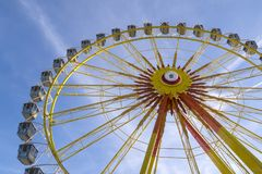 Ferris wheel at the Oktoberfest, Munich, Germany Royalty Free Stock Image