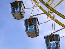 Ferris wheel at the Oktoberfest, Munich, Germany stock photo