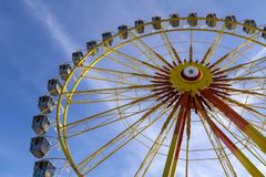 Ferris wheel at the Oktoberfest, Munich, Germany stock images