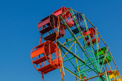 Ferris wheel old style. Stock Photos