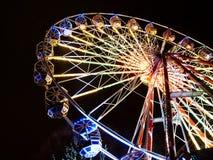 Ferris wheel ona New Year market Royalty Free Stock Images