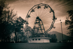 Ferris Wheel Onesti Park Royalty Free Stock Images