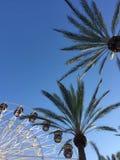 Ferris Wheel op een de Zomerdag Stock Afbeelding