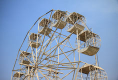 Ferris wheel over Royalty Free Stock Photography