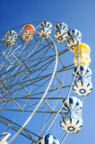 Ferris Wheel Over Blue Sky Stock Image