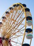 Ferris Wheel Over Blue Sky Stock Image