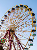 Ferris Wheel Over Blue Sky Royalty Free Stock Images