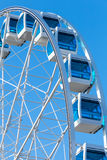 Ferris wheel over clear blue sky Royalty Free Stock Image