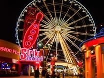 Ferris Wheel på karnevalet Arkivfoton