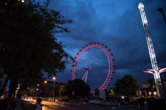 Ferris Wheel på London Arkivfoton