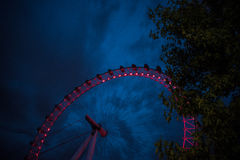 Ferris Wheel på London Arkivbild