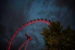Ferris Wheel på London Arkivfoto