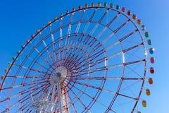 Ferris Wheel på palettstaden Royaltyfri Fotografi