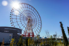 Ferris Wheel at Palette Town Stock Image