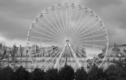 A ferris wheel in Paris Royalty Free Stock Photography