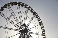 Ferris wheel in Paris, France royalty free stock photo