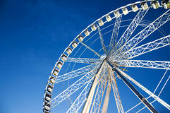 Ferris wheel in Paris, France Stock Images