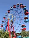 Ferris wheel in park. In Sevastopol Stock Image