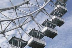 Ferris wheel. In the park stock photos