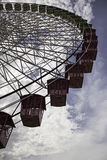 Ferris wheel in park Stock Images