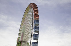 Ferris wheel in park Stock Photo