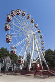 Ferris wheel in the park attractions resort town of Adler, Sochi Royalty Free Stock Photo
