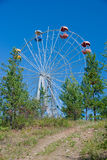 Ferris wheel in the park Royalty Free Stock Photography