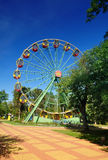 Ferris wheel in the park. Maikop. Adygea. Russia Stock Photography