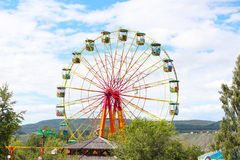 Ferris wheel in the park Swarms creek Stock Photo