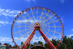 Ferris wheel in the park Royalty Free Stock Photo