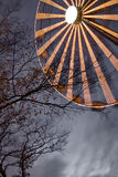 Ferris Wheel in the park Youth, Kaliningrad Stock Image