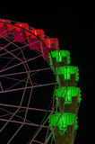 Ferris wheel partial view Royalty Free Stock Image