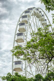 Ferris wheel with passenger cars Royalty Free Stock Photos